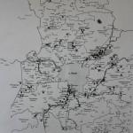 Карта садоводств на территории Псковского района