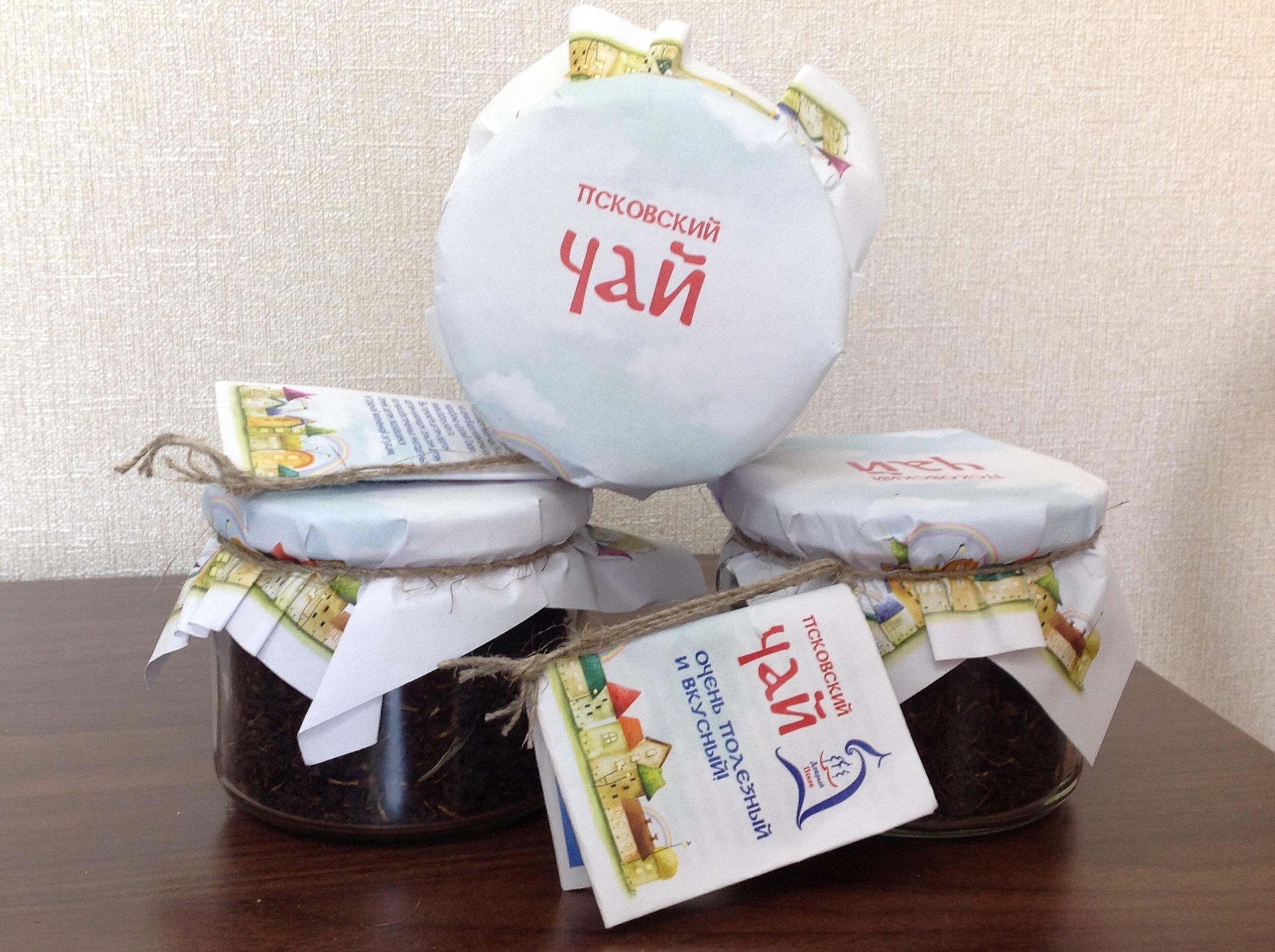 Пск.чай стеклобанка 60 гр1