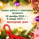 гРАФИК РАБОТЫ 2019